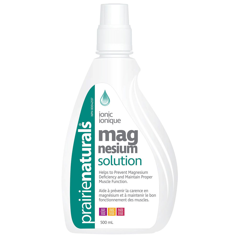 : Prairie Naturals Liquid Magnesium Solution