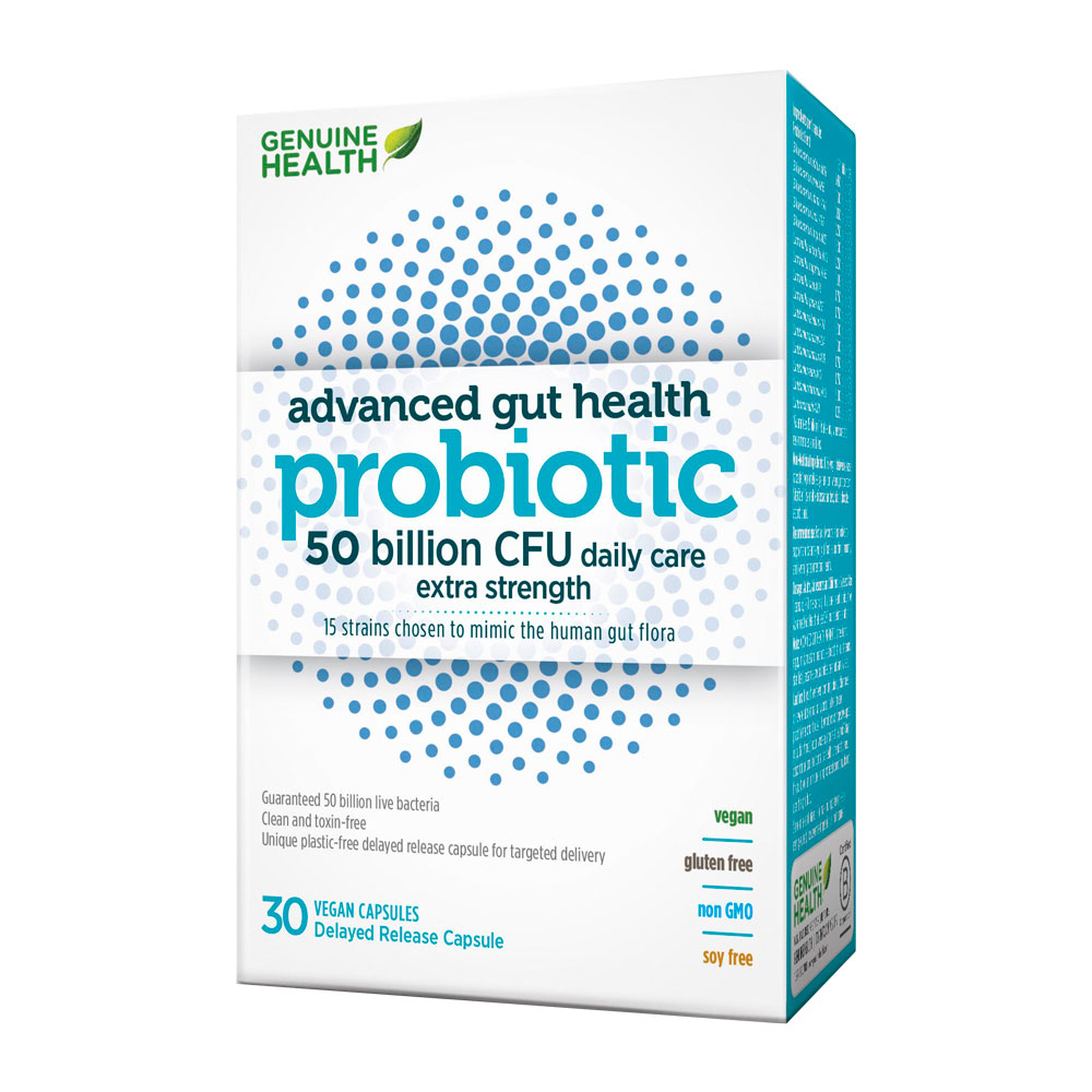 : Advanced Gut Health - Probiotic 50 billion