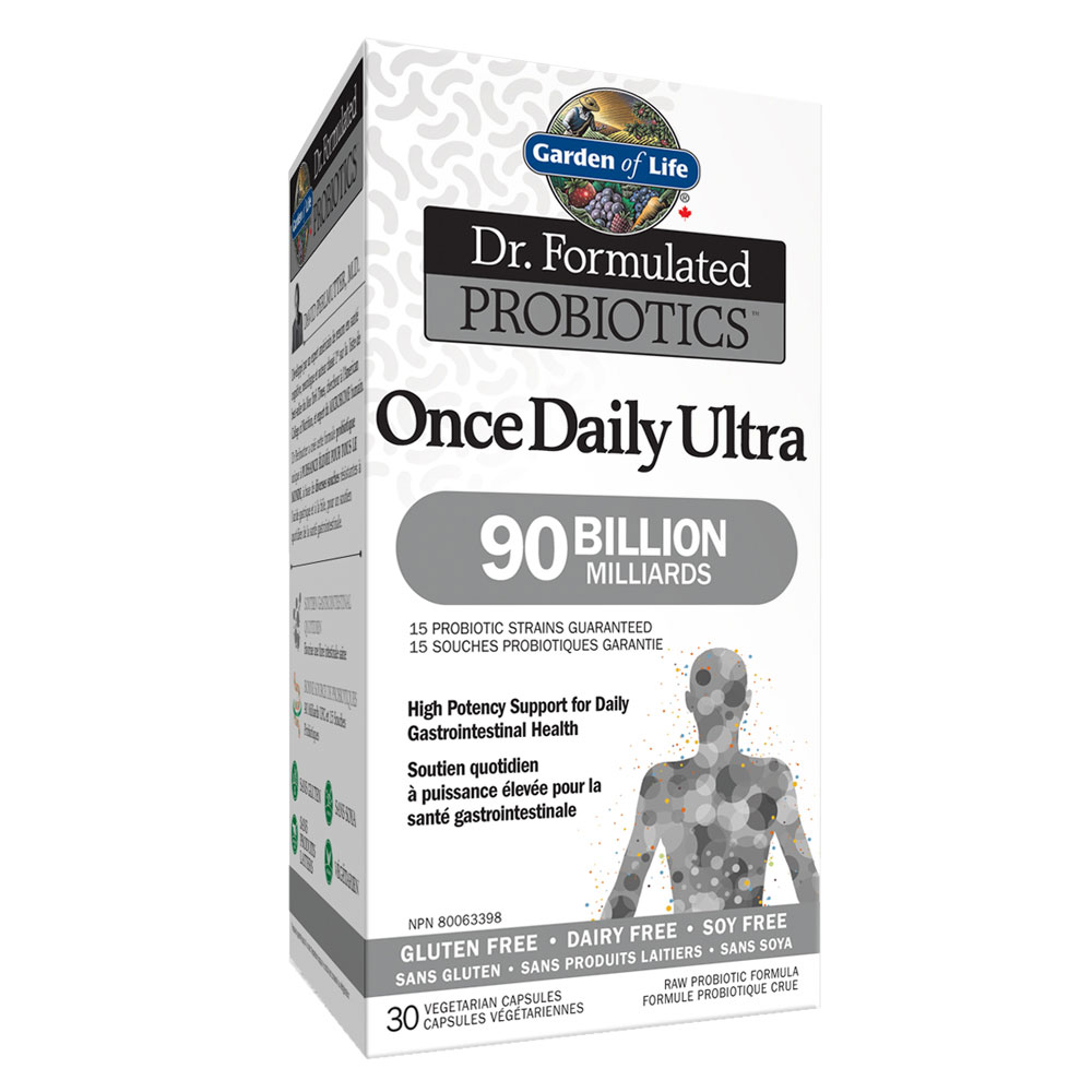 : Garden of Life Dr. Formulated Once Daily Ultra 90B Probiotics