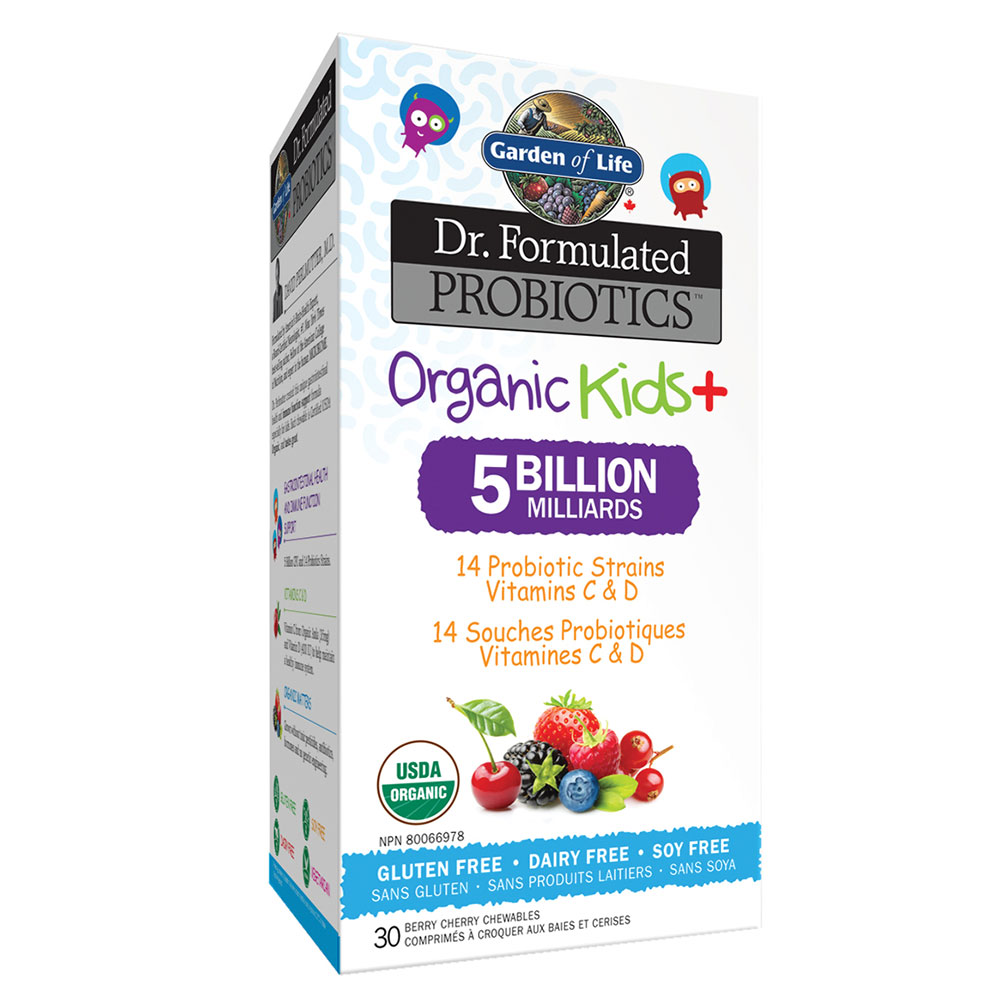 : Garden of Life Dr. Formulated Organic Kids+ 5B Probiotics