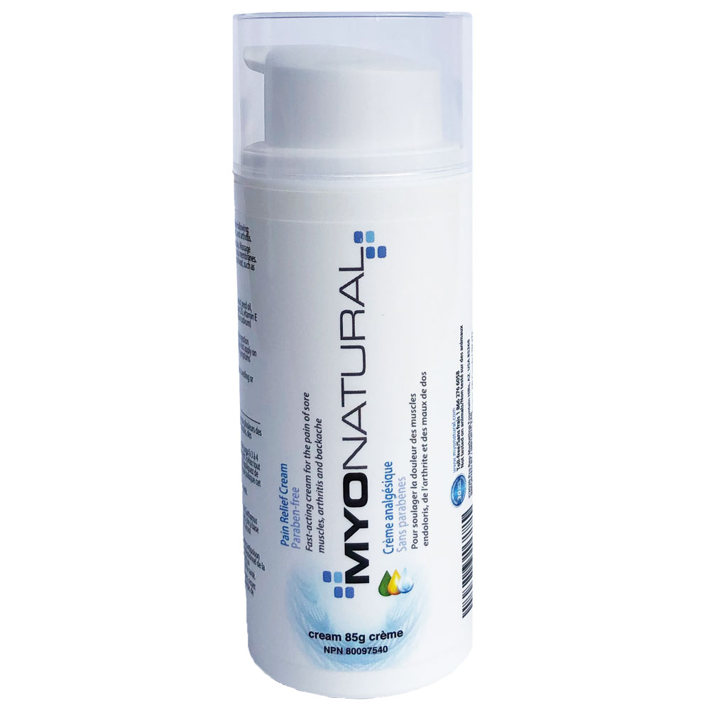 : MyoNatural Pain Relief Cream 3oz