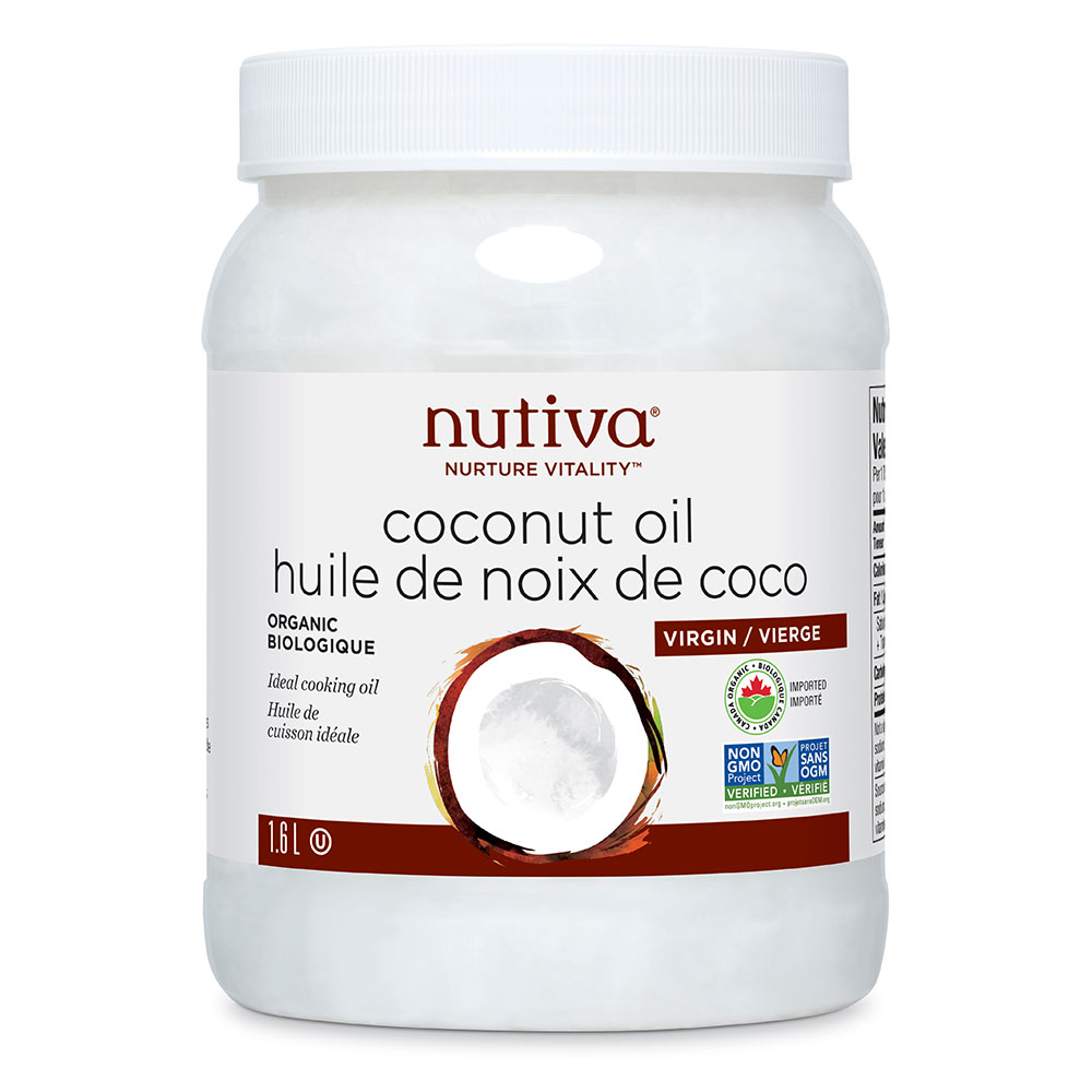 : Nutiva Virgin Coconut Oil, 1.6L