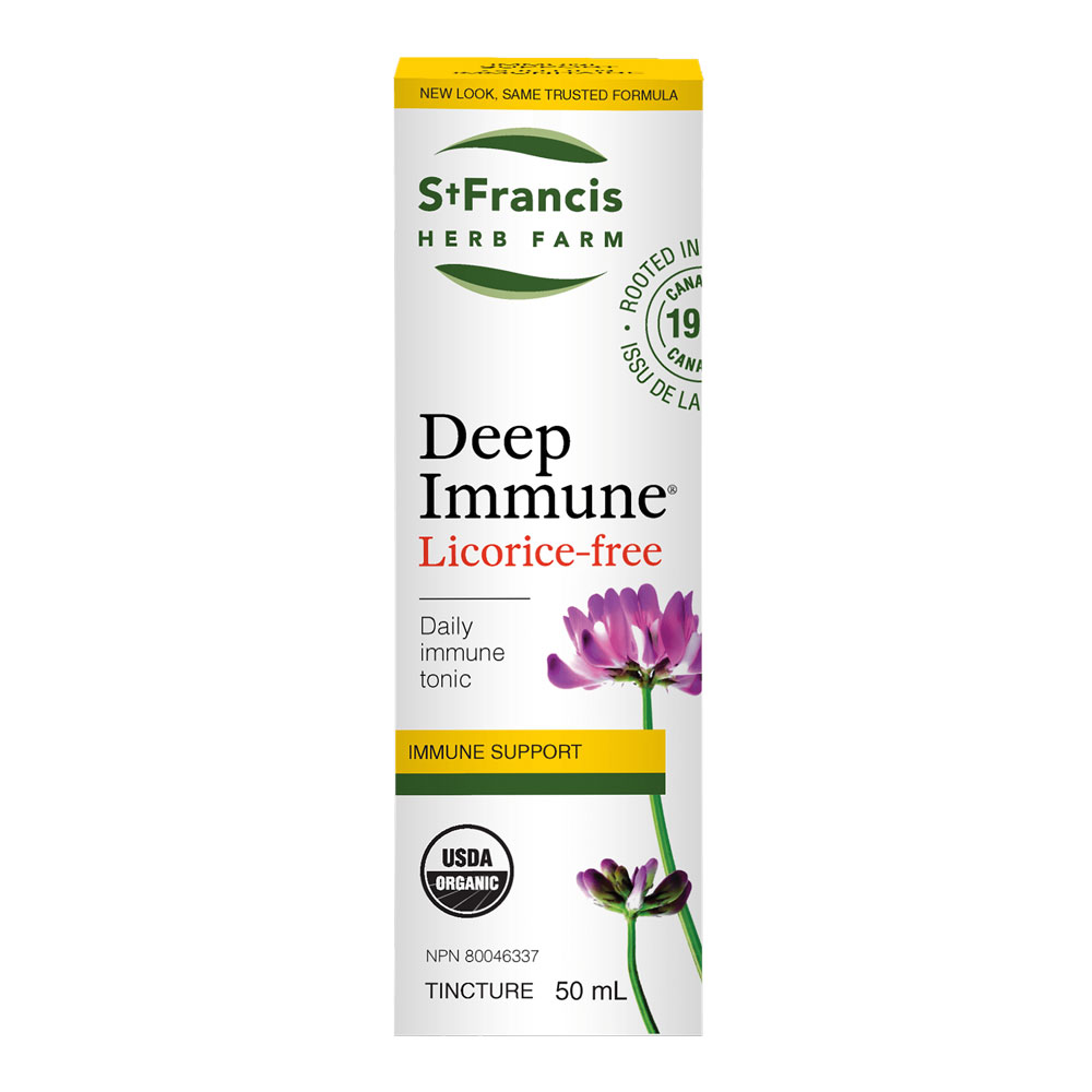 : St. Francis Herb Farm Deep Immune® Licorice-free