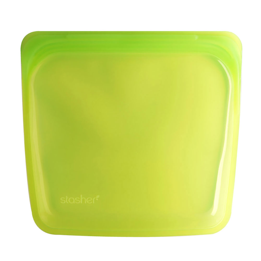 : Stasher Sandwich Bag, Lime