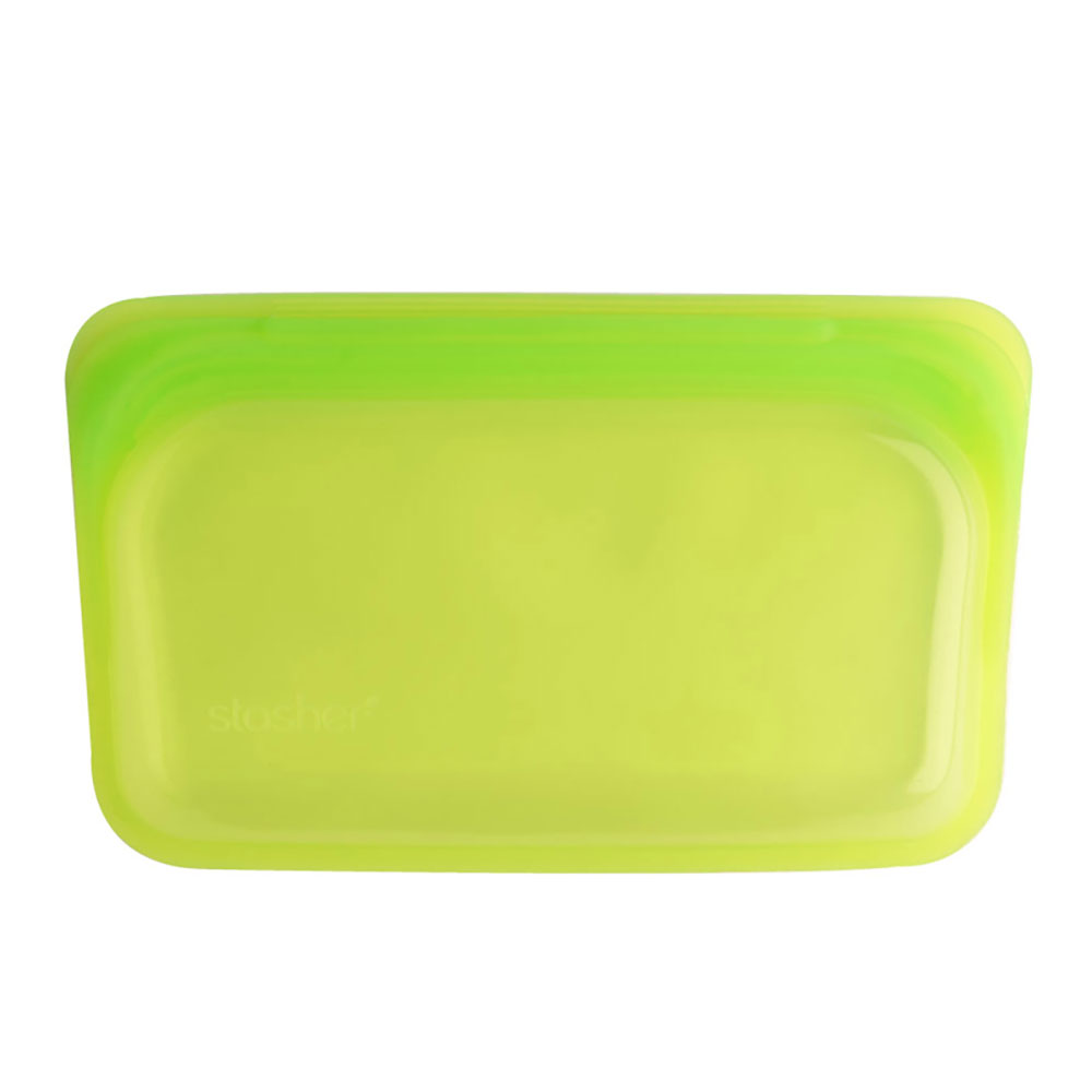 : Stasher Snack Bag, Lime