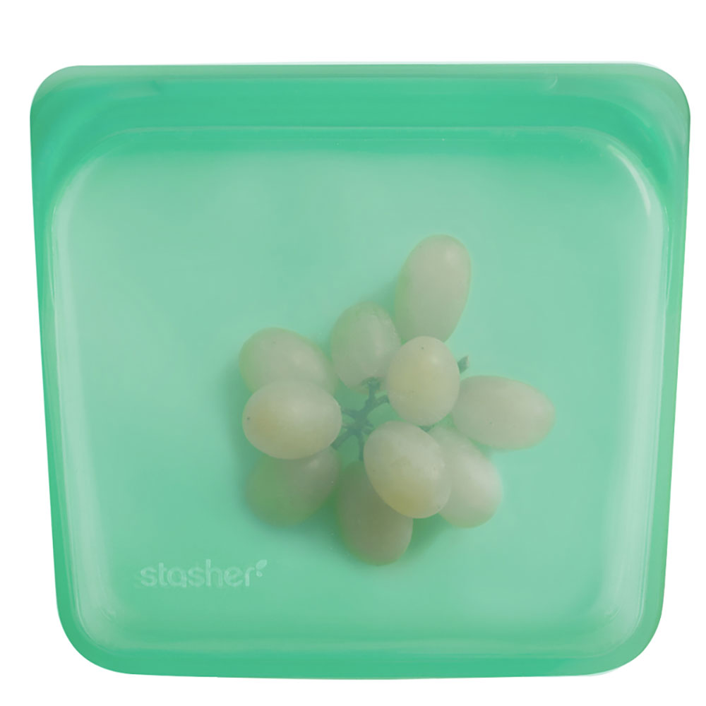 : Stasher Sandwich Bag, Jade