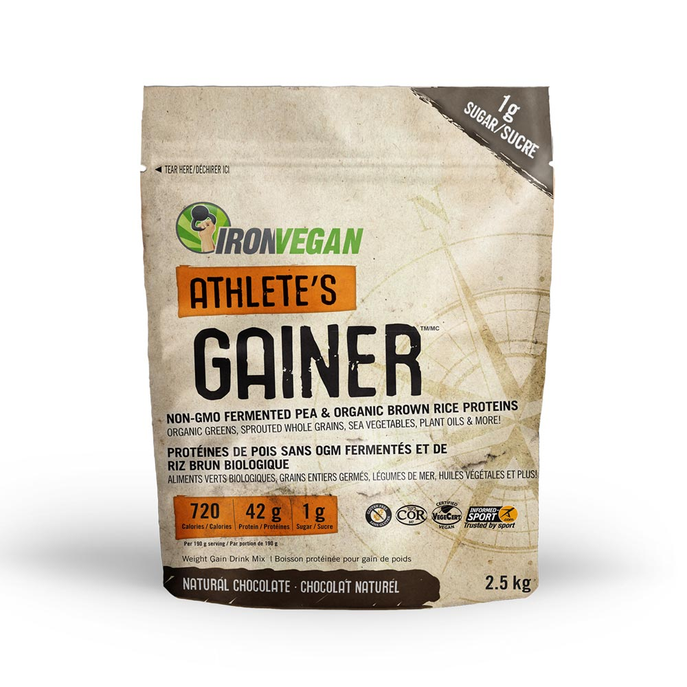 : Iron Vegan Athlete's Gainer, Chocolate