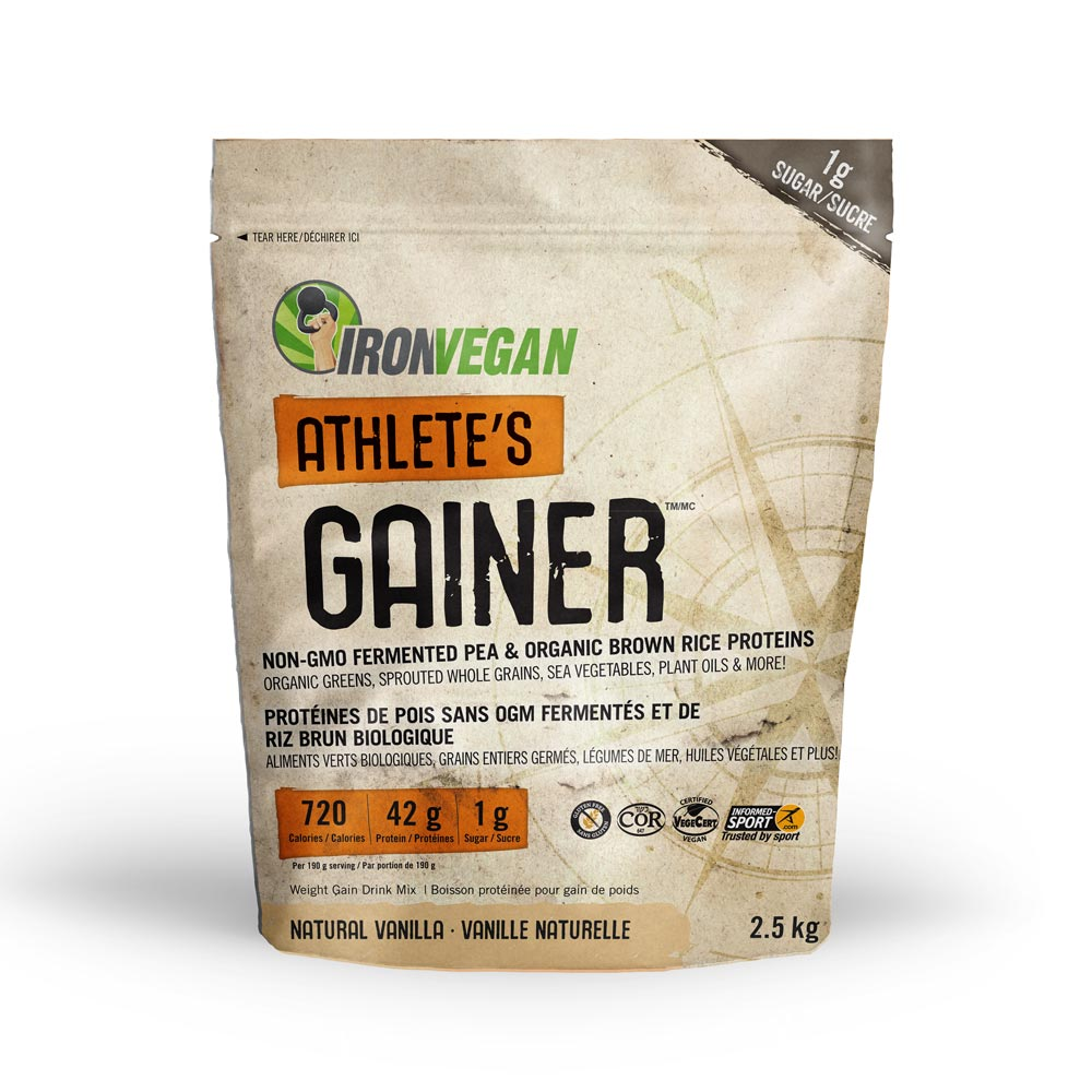 : Iron Vegan Athlete's Gainer, Vanilla