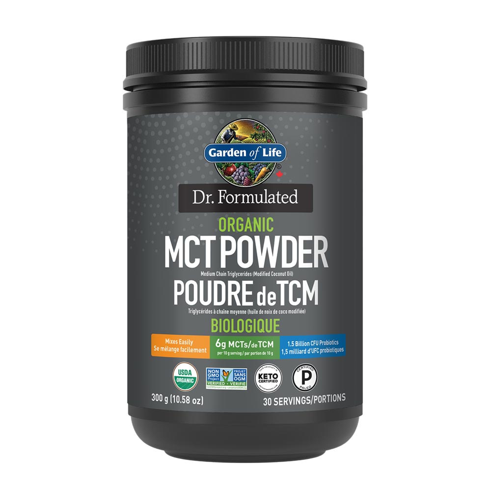 : Dr. Formulated Organic MCT Powder