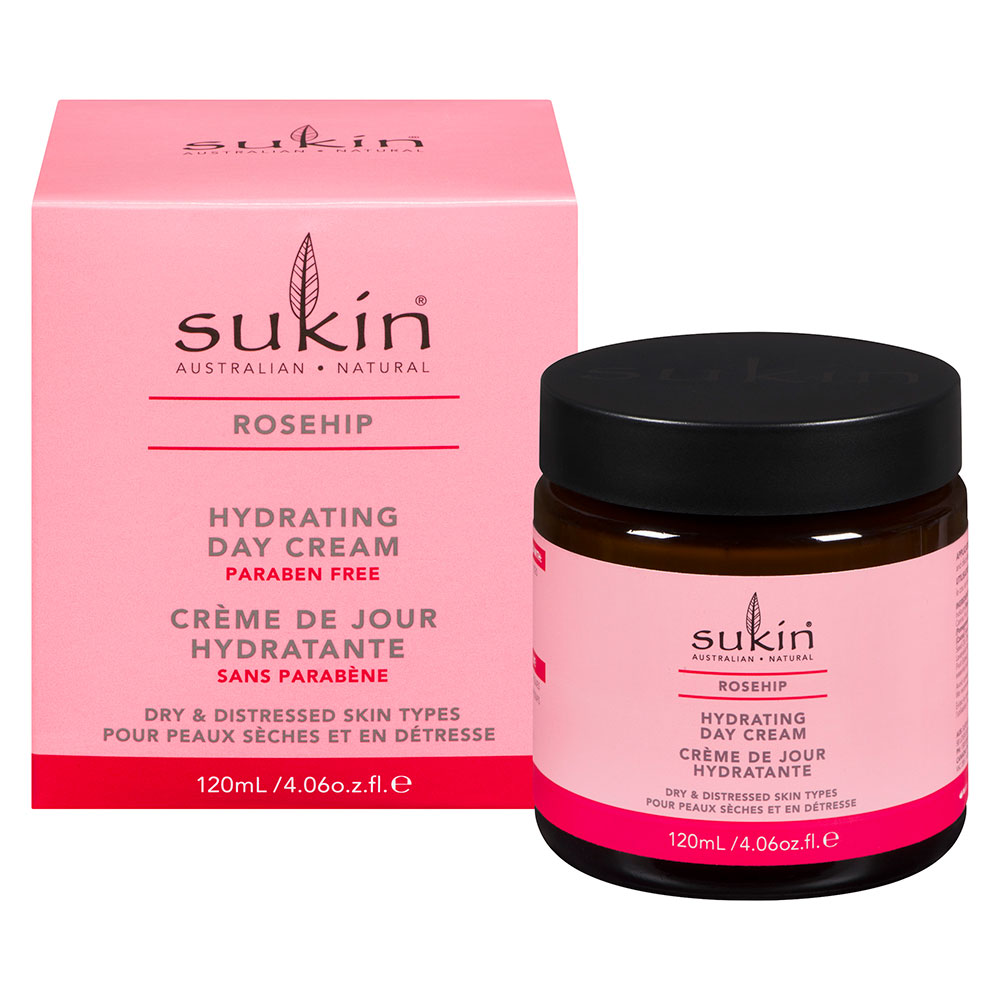: Sukin Rosehip Hydrating Day Cream 120ml